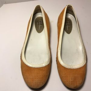 Born Women's Lilly Flats Tan Leather Size 10 M